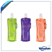branded plastic water bottle