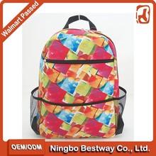 Chinese school bag waterproof big book bags school library bags