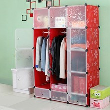 Best Material easy assemble simple design bath closet and wardrobe