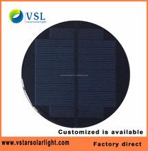 customized design mini size solar panels 12V epoxy with CE RoHS FCC
