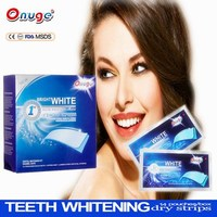 Home use teeth whitening strips dental supply best selling health care product