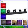 Guangzhou dj equipment,quad color linear led light,4 head RGBW led moving head lights