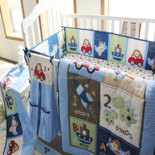 Factory Directory Embroidery and Applique Baby Quilt/baby comforter/
