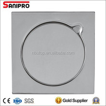 15*15 stainless steel floor drain with three pieces