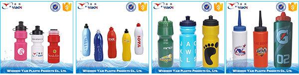 친환경 도매 플라스틱 머그잔 재사용 프로모션 제조 업체 작은 플라스틱 병