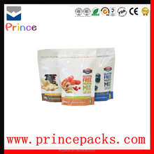 Best stand up food plastic packing bag and snack plastic packaging