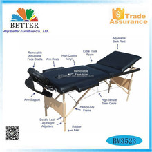 Better Right Angle and Wood massage table 3 Section Massage Table,japan massage table