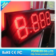 12 inch led double-sided gas price display