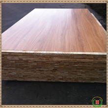 2015 new design teak wood finger joint board