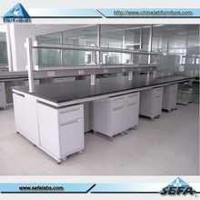acid corrosion used laboratory furniture for sale lab bench with wheels movable cabinet
