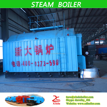 Automatic or Manual Wood chips wood pellet straw pellet 2 ton Biomass fired Steam Boiler for Heating