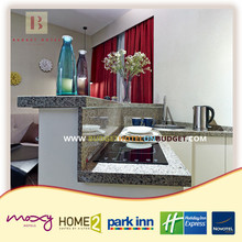4 star Budget hotel inn mini kitchen furnitures