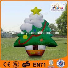 newest fashion inflatable christmas product christmas tree