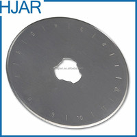 SKS7 steel circle rotary cutter blade 28mm/45mm/60mm for cutting fabric