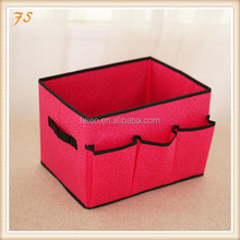 Beautiful sundries organizer foldable cosmetic storage box
