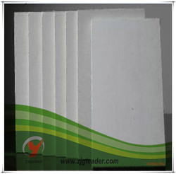 2015 exported china cheap aluminium pasted paper plate, fire board for wood stove
