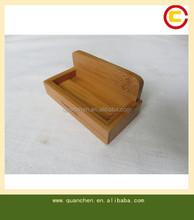 high quality bamboo namecard holder