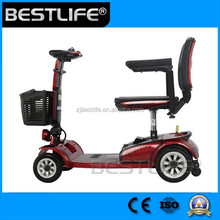 Hot Sale Electric small handicap three wheel scooter for adult with CE certificate