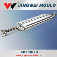 Wholesale Coating Lamination Machinery Parts Plastic Cast Film Extrusion T-Die for Screw Extruder Line