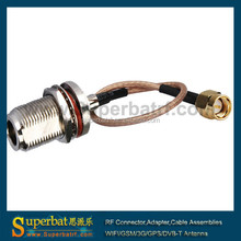 Antenna extension cable Antenna RF feeder cable SMA male straight to N female straight with RG316