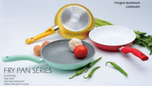 Aluminium cookware set with ceramic coating