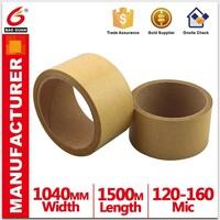 Baoguan company High quality White/Brown Kraft Paper Tape Provide custom printing