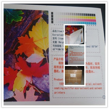 HY-905M 100% polyester Solvent Inkjet Canvas rolls
