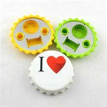 Best quality bottle shape fridge magnet bottle opener