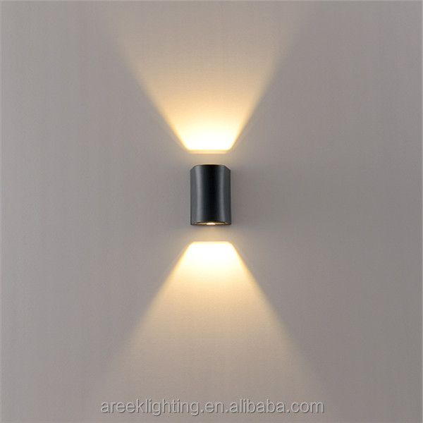 Nuevo diseño!!! 6 w led inalámbrico de pared light outdoor pared ...
