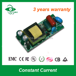 led driver module 9w 300mA isolate power supply constant current for indoor lamp