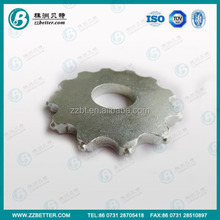 Carbide Tipped Milling Cutters in Zinc Coating