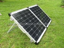 china manufacturer shenzhen factory A grade cell 100 watt folding solar panel 12V system