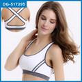 Custom made respirável esportes bra/cruz mulheres bra ginásio/fitness sexy bra