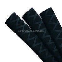 Stock in US. Diameter 35mm black/green/red/yellow color non-slip heat shirnk tube for paddle handles/hand tools/grips/rod