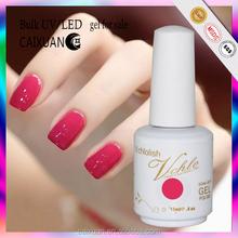 Hot sale! 15ML top quality factory price Soak off LED&UV gel nail polish uv nail gel polish uv nail gel polish