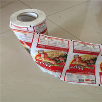 Laminated printing BOPP/CPP plastic gift wrap film