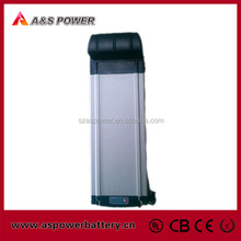 Rechargeable Rear rack type 24v 10ah Lithium ion electric bicycle battery