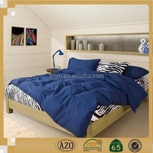 promotional price for dark plain design bedding sheet set in china wholesale