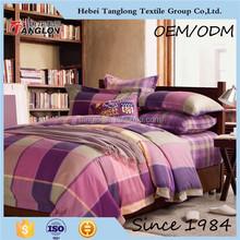 Hot new product comforter sets bedding plain stripe bedding set famous brand beding set