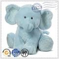 Tela de diseño moda gigante animal de peluche de elefante