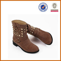 handmade luxurious fashion women botts high-end genuine leather winter boots for women