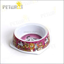 Petwant Melamine Dog Water Bowls Imitation Ceramic,different sizes available