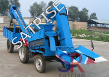 Professional harvesting machine tractor mounted corn harvester for sale