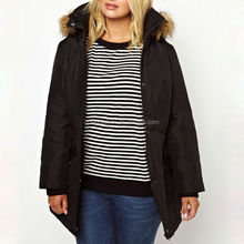 2014 china product fur hood plus size clothing new fashion padded winter jacket