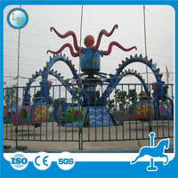 Amusement ride theme park family rides rotary octopus animal rides for sale