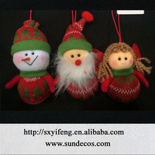 hung items for christmas tree decoration