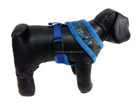 Striped and solid schemed Dog harness