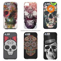Guangdong Wholesale Paint Design Genuine Leather Case Straight Talk Phone for Iphone 6 and 6S