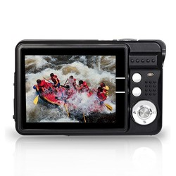 HD 18MP digital camera with 2.7'' TFT display and 4x digital zoom