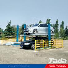 PJS 2 Post 2 Cars Parking Lift System/Cheap 2 Post Car Parking Garage Lift System